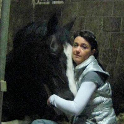 Marese Logister met paard